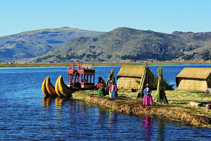 image Perou Titicaca Uros peuple  fo