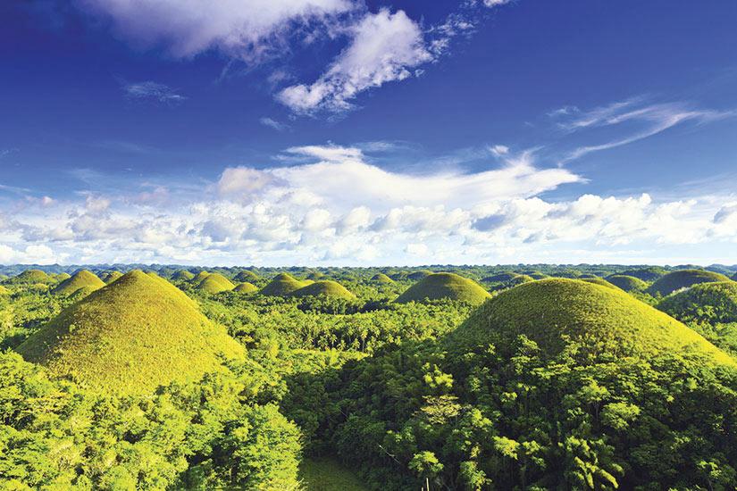 image Philippines Bohol montagnes de chocolat  it