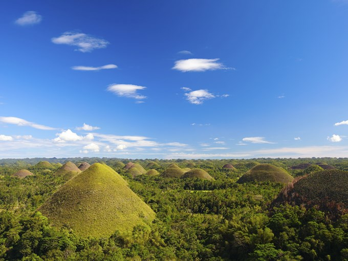 image Philippines bohol chocolate hills