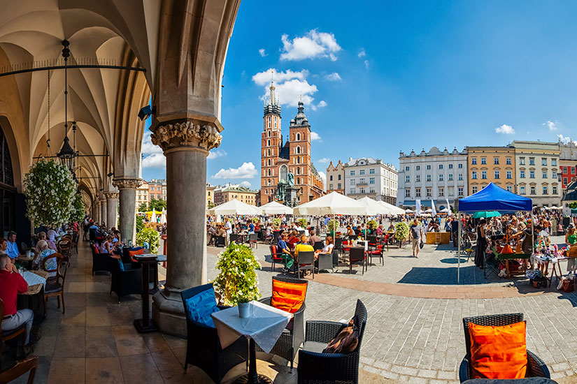 image Pologne Cracovie Place  it