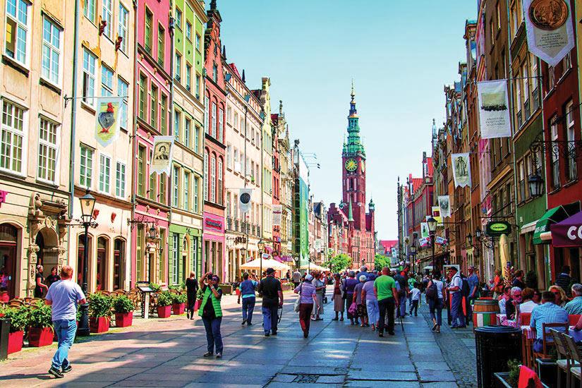 image Pologne Gdansk Long marche portuaire  it