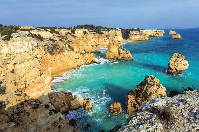 image Portugal Algavre Praia Da Marinha  fo