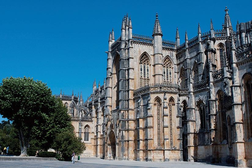 image Portugal Batalha centre abbaye dominicaine Santa Maria Vitoria