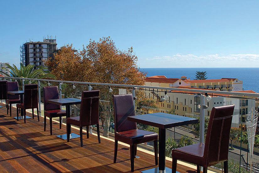 image Portugal Funchal hotel RagaTerrasse la terasse