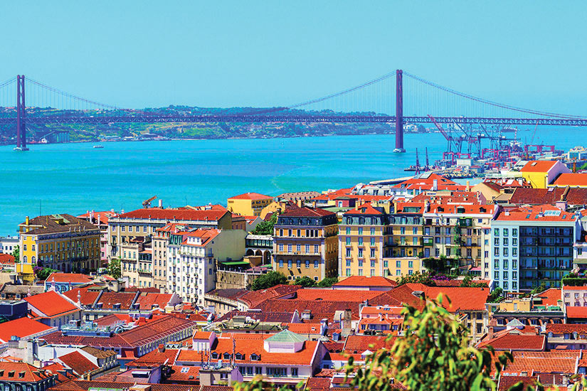 image Portugal Lisbonne Panorama  fo