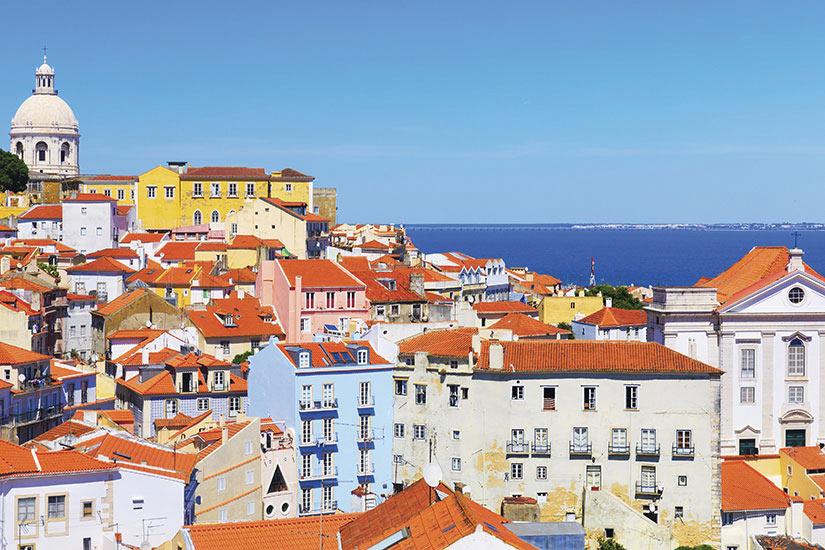 image Portugal Lisbonne maisons  fo