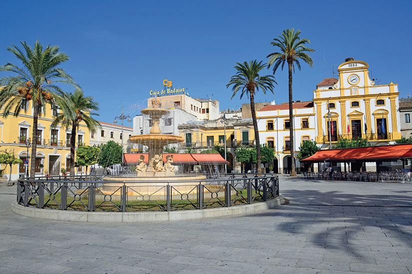 image Portugal Merida place dEspagne  fo