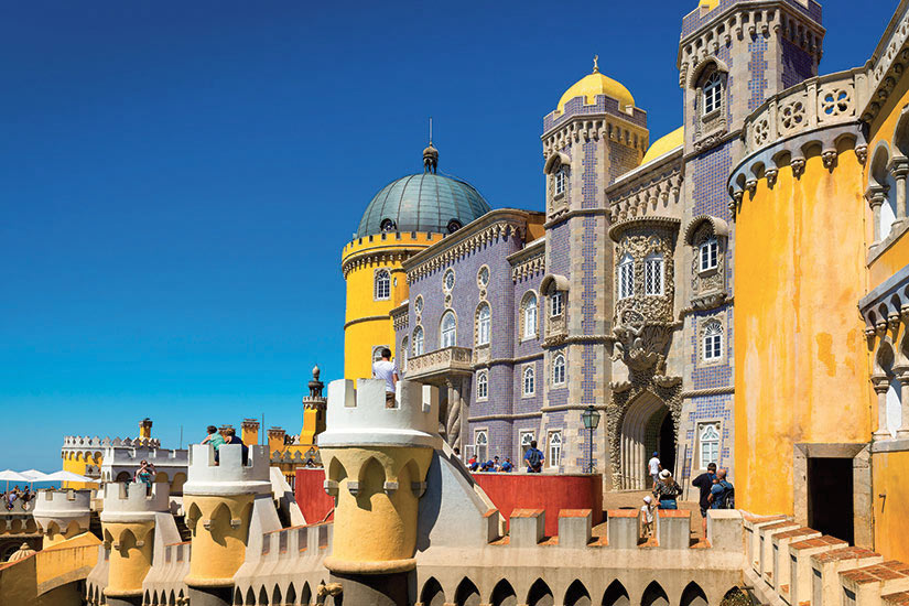 image Portugal Sintra Pena Palace  fo