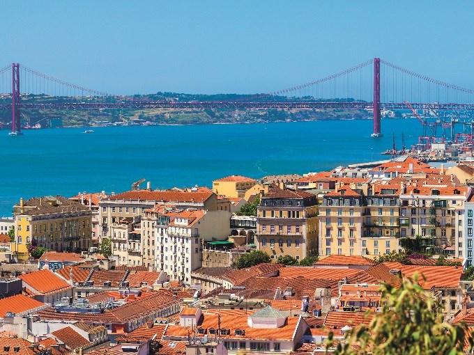 image Portugal lisbonne pont vue ensemble
