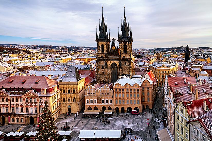 image Republique Tcheque Prague Eglise Notre Dame de Tyn Noel 77 fo_165257966