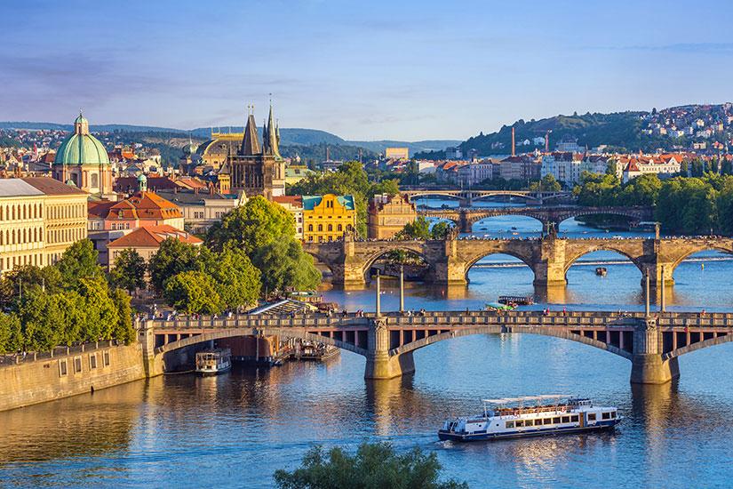 image Republique Tcheque Prague panorama  fo