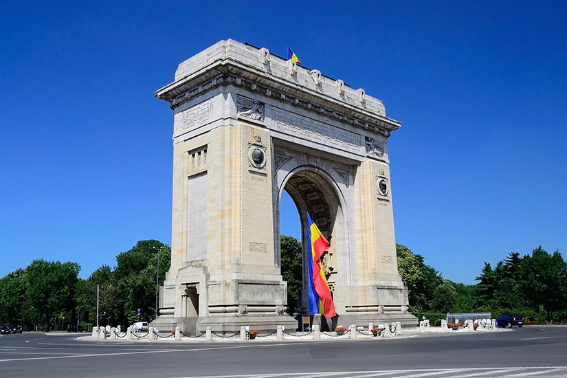 image Roumanie Bucarest Arc Triomphe  fo