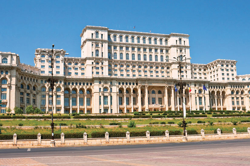 image Roumanie Bucarest Palais  it