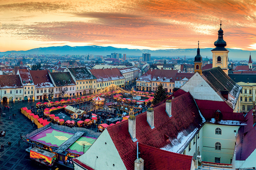 image Roumanie Sibiu Place centrale Noel 23 as_130839065