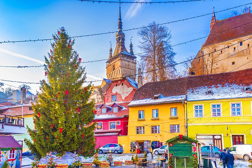 image Roumanie Sighisoara Marche de Noel 24 as_131751800