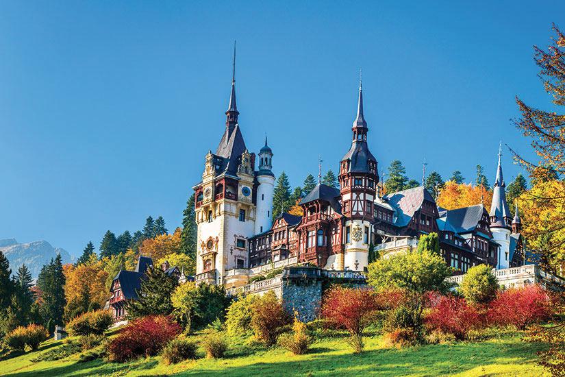 image Roumanie Sinaia Chateau Peles  fo