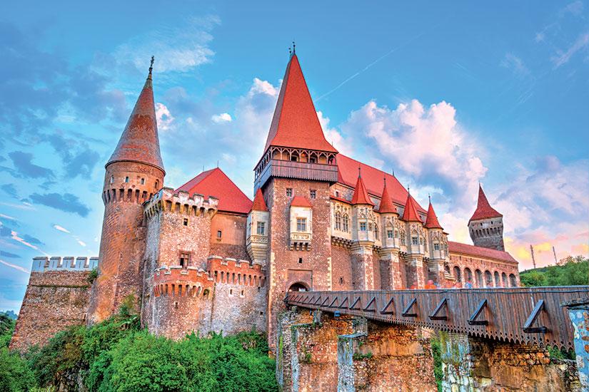 image Roumanie chateau Hunedoara  fo