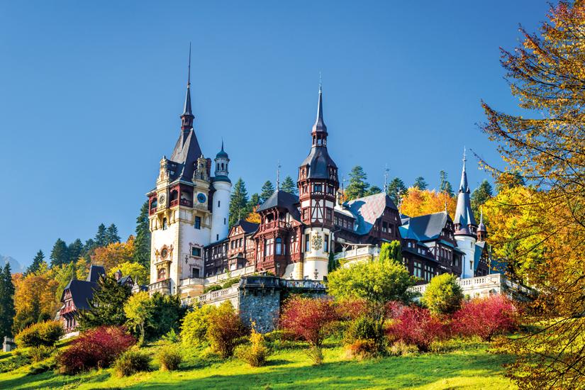 image Roumanie sinaia peles chateau vue 54 fo_85867621