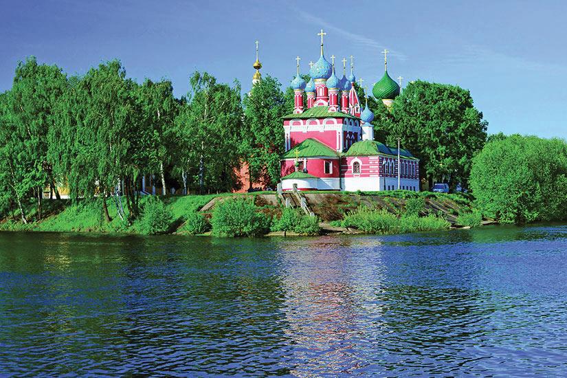 image Russie Fleuve Volga Eglise  it