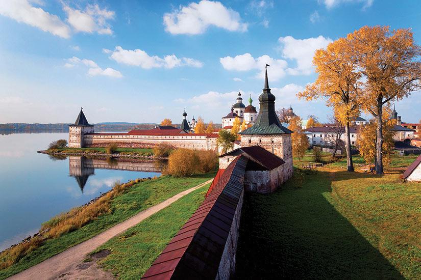 image Russie Goritsy monastere Kirillo le plus grande du nord de la Russie  fo