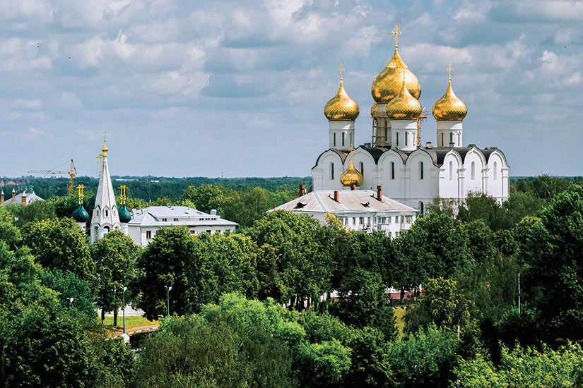 image Russie Iaroslavl Cathedrale de Assomption vierge Marie  it