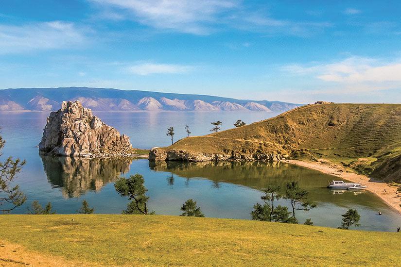 image Russie Lac Baikal ile Olkhon sur le lac Baikal  fo