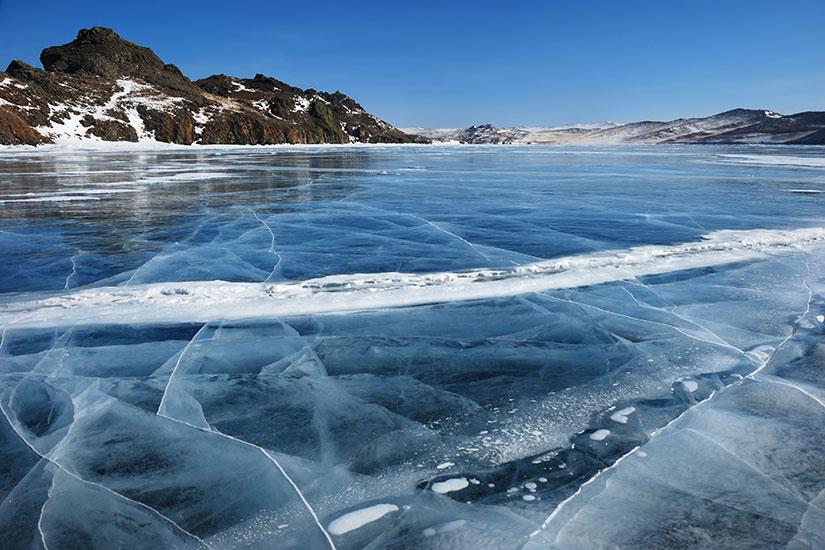 image Russie Lac Baikal lac gele  it