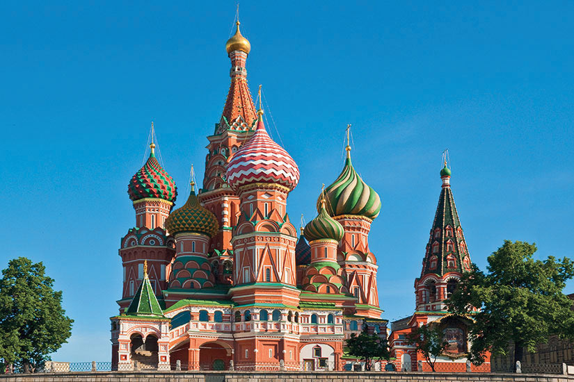 image Russie Moscou Cathedrale Saint Basile  fo