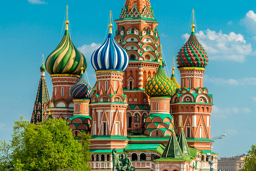 image Russie Moscou Cathedrale Saint Basile  it