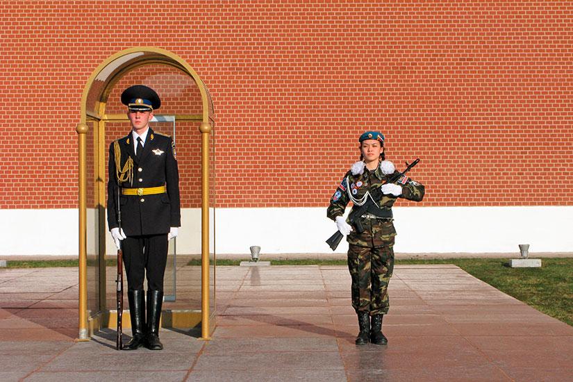 image Russie Moscou Garde honneur  it