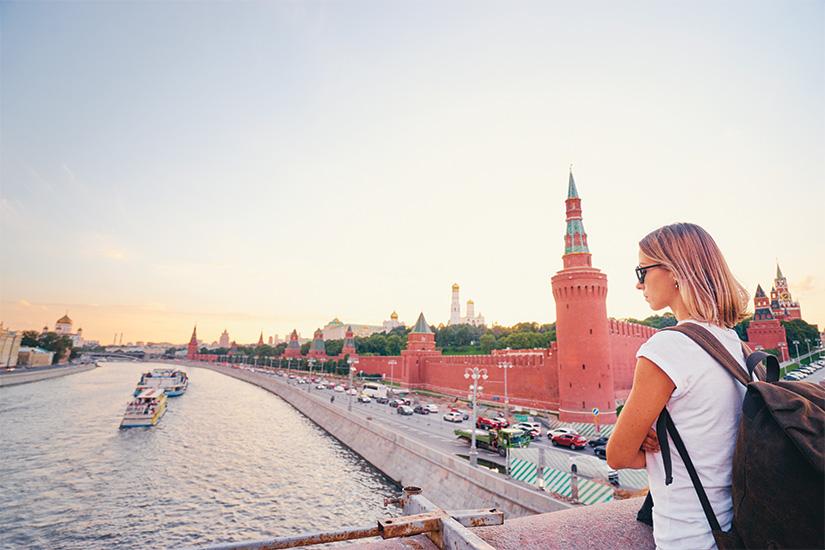 image Russie Moscou Jeune femme profitant de la vue 56 as_279633135