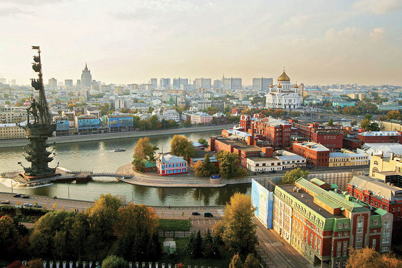 image Russie Moscou Panorama  it