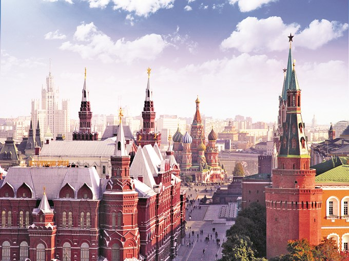 image Russie Moscou placerouge