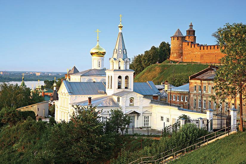 image Russie Nijni Novgorod Eglise de Elijah  it