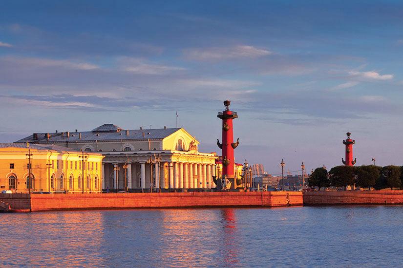 image Russie Saint Petersbourg Ile Vassilievski  it