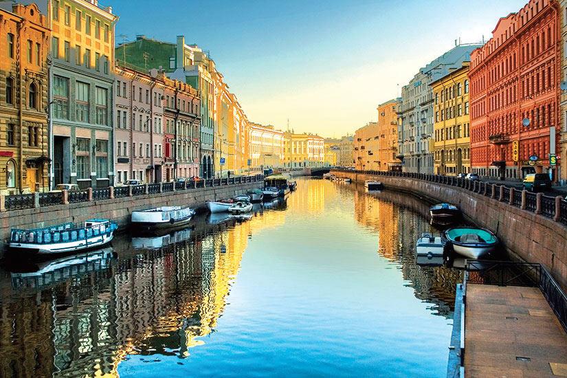 image Russie Saint Petersbourg Riviere Moika  it