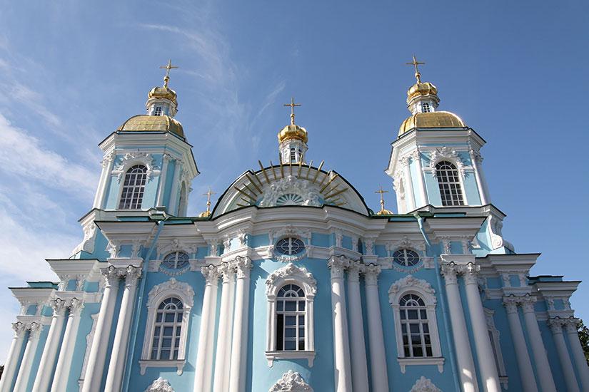 image Russie Saint Petersbourg eglise Saint Nicolas  fo