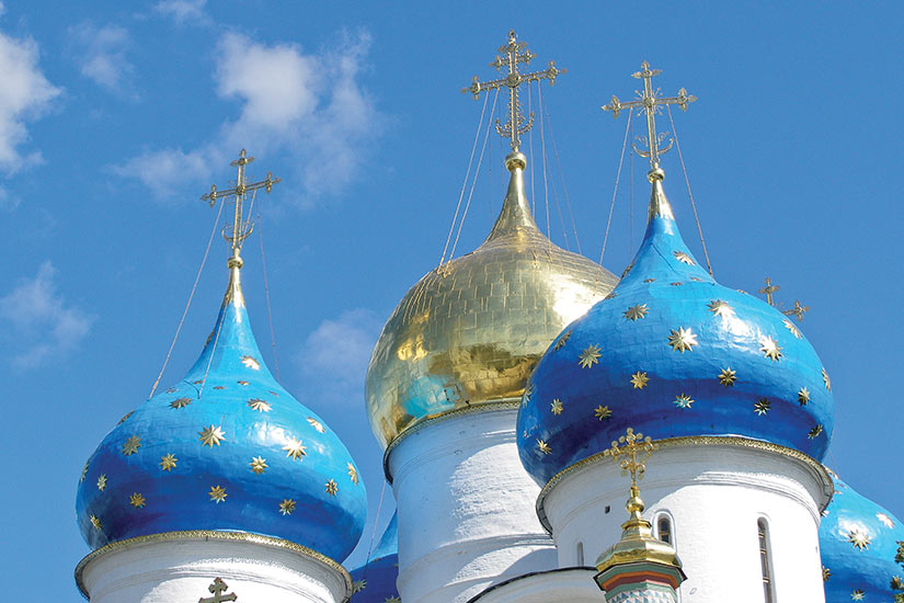 image Russie Serguiev Possad eglisse orthodoxe  fo