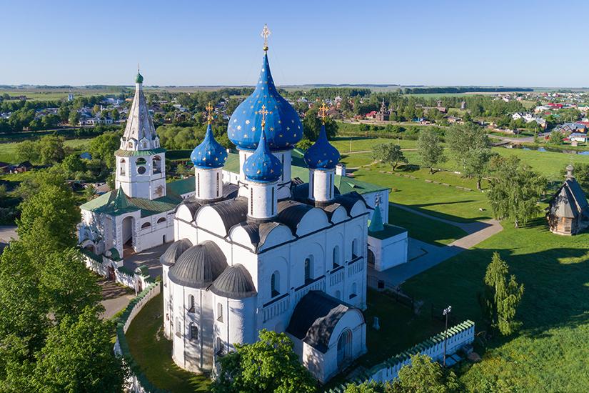 image Russie Souzdal Kremlin et Cathedrale de la Nativite as_214263999