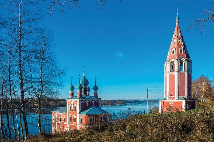 image Russie Tutaev Kazanskaya Eglise de la Transfiguration  it