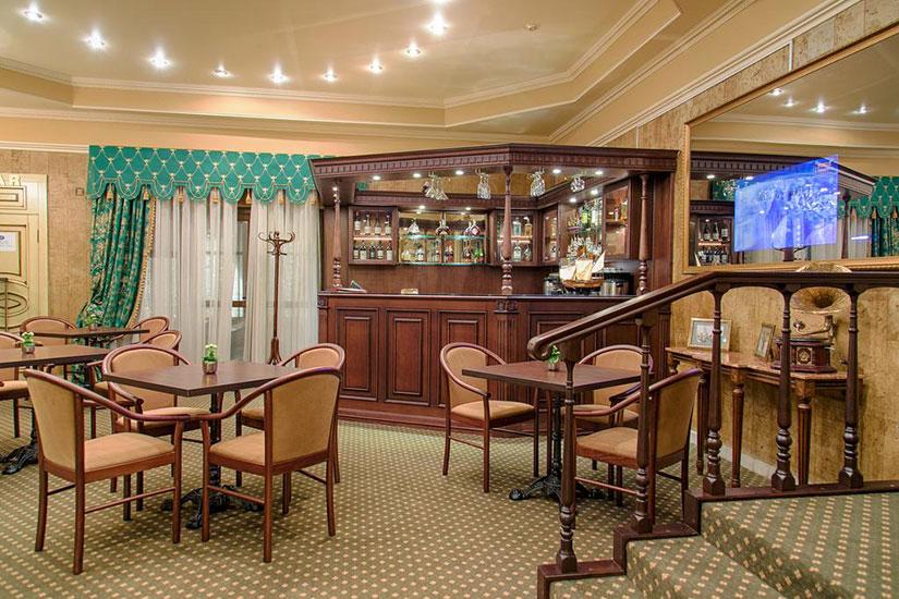 image Russie moscou hotel pushkin bar