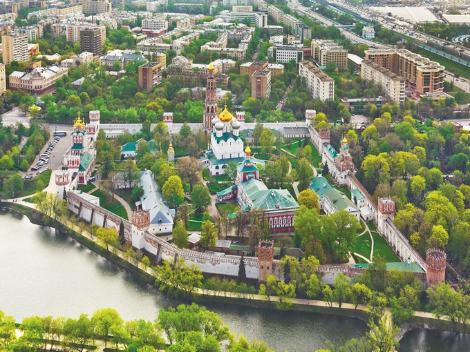 image Russie moscou monastere novodievtchi