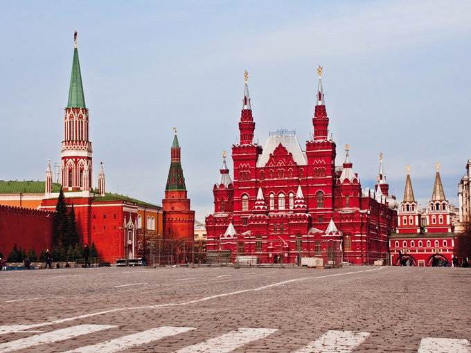 image Russie moscou place rouge vue ensemble