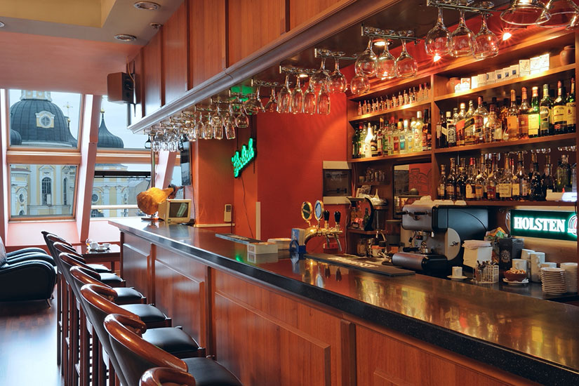 image Russie saint petersbourg hotel dostoevsky bar