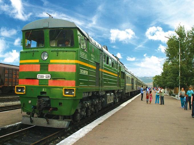 image Russie transsiberien quai