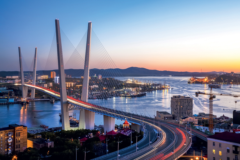 image Russie vladivostok panorama coucher soleil extreme orientale pont or 71 fo_108154597