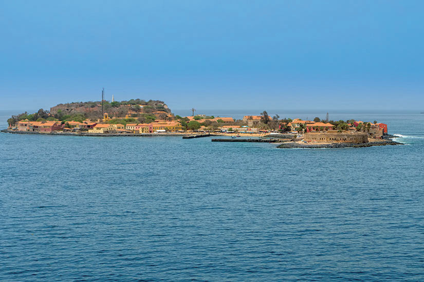 image Senegal Goree Panorama  it