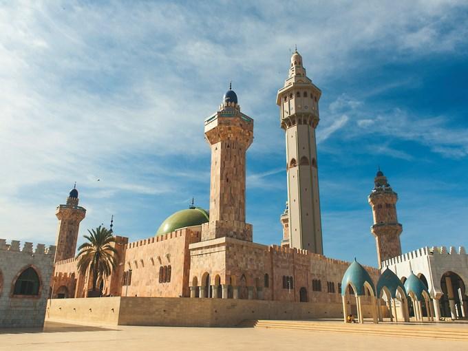 image Senegal Touba mosquee