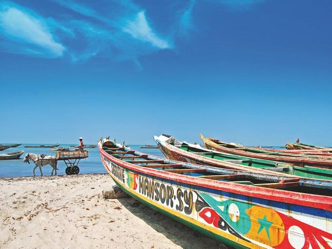 image Senegal saint louis plage