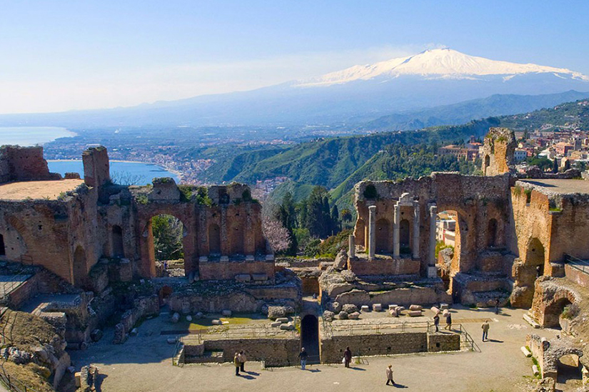 image Sicile Taormine